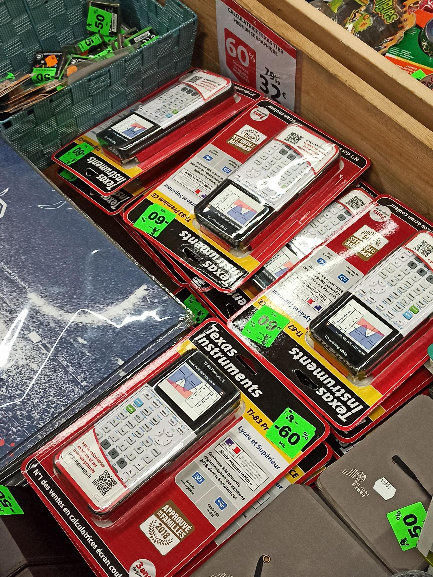 Calculatrice Texas Instruments Ti83 Premium - Nancy Laxou (54)