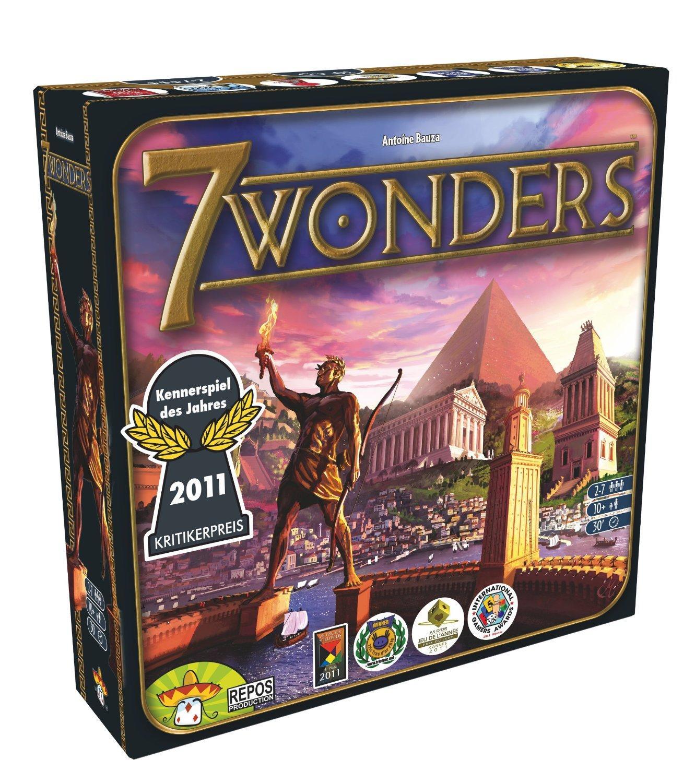 Jeu de société 7 Wonders d'Asmodée