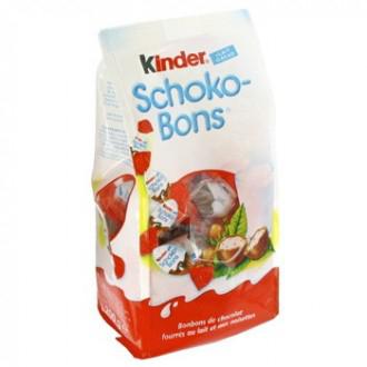 2 paquets Kinder Shokobons