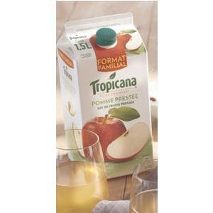 2 Briques Tropicana Pure Premium - 1,5L (via BDR)