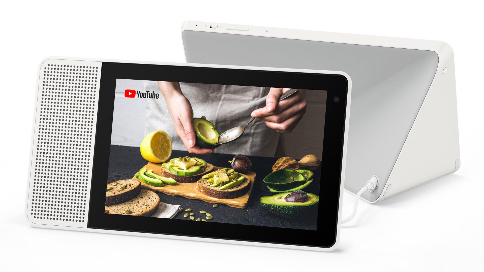 "Assistant vocal 10"" Lenovo Smart Display SD-X701B avec Google Assistant"