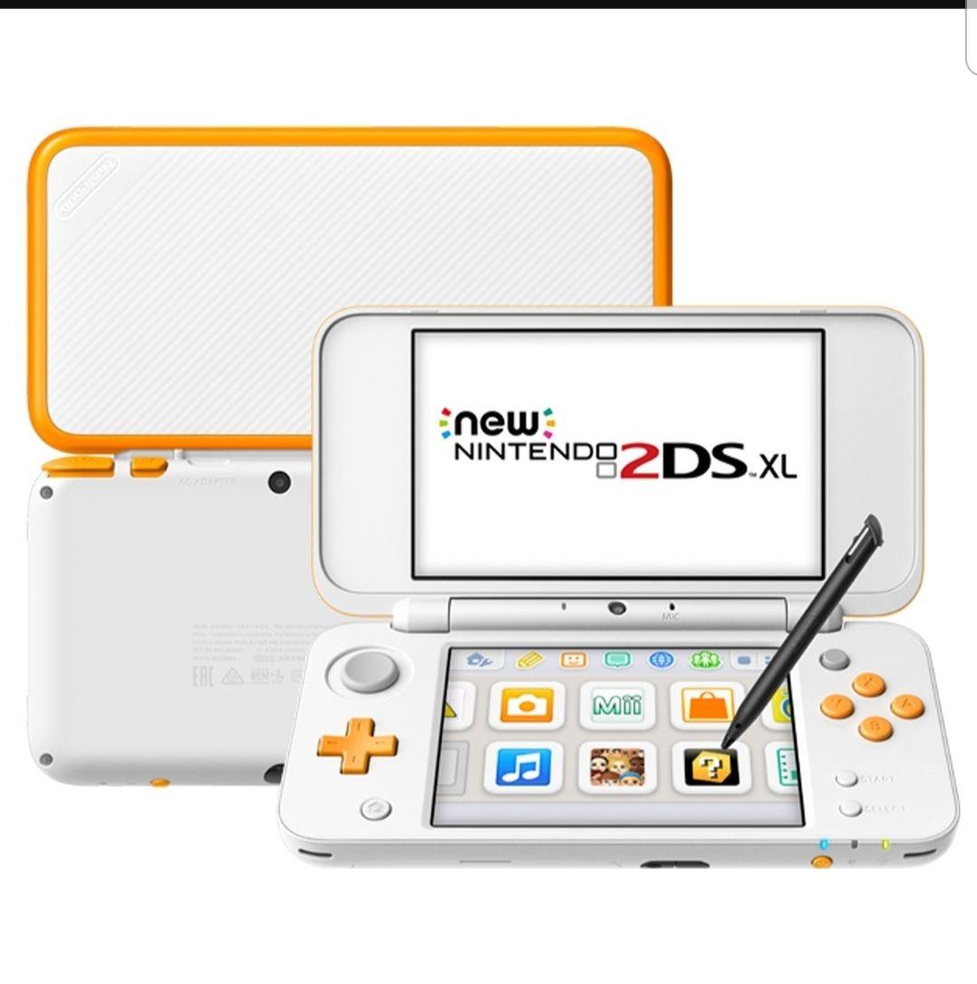 Console New Nintendo 2DS XL (Orange/Blanc) - Pontarlier (25)