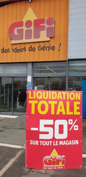 50% de réduction sur l'ensemble du magasin - Rochefort (17)