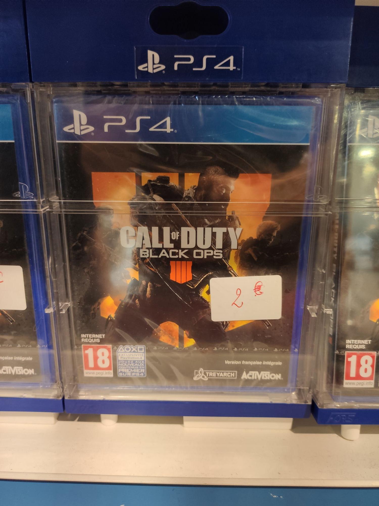 Call of Duty Black Ops 4 sur PS4 - Montereau-Fault-Yonne (77)