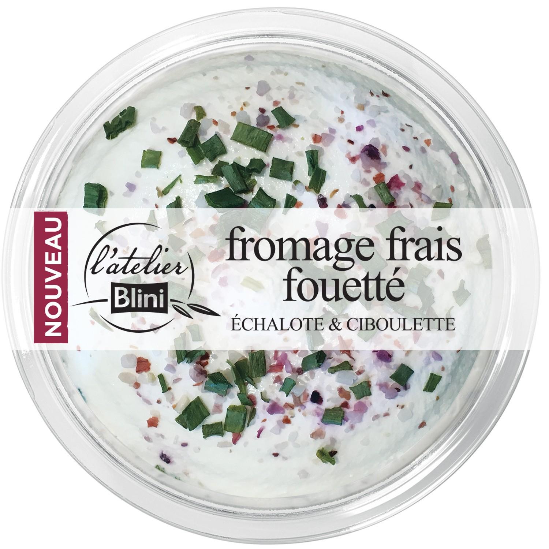 Lot de 2 fromages frais fouettés Atelier Blini (via ODR Shopmium + BDR Maison Foody)
