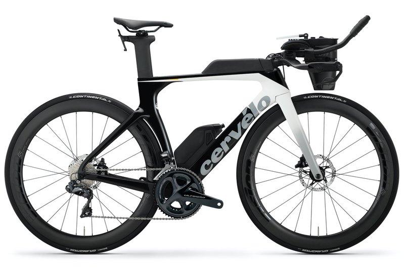 Vélo triathlon Cervelo P-Series Disc Ultegra Di2 (2020) - Noir/Blanc, 54 cm