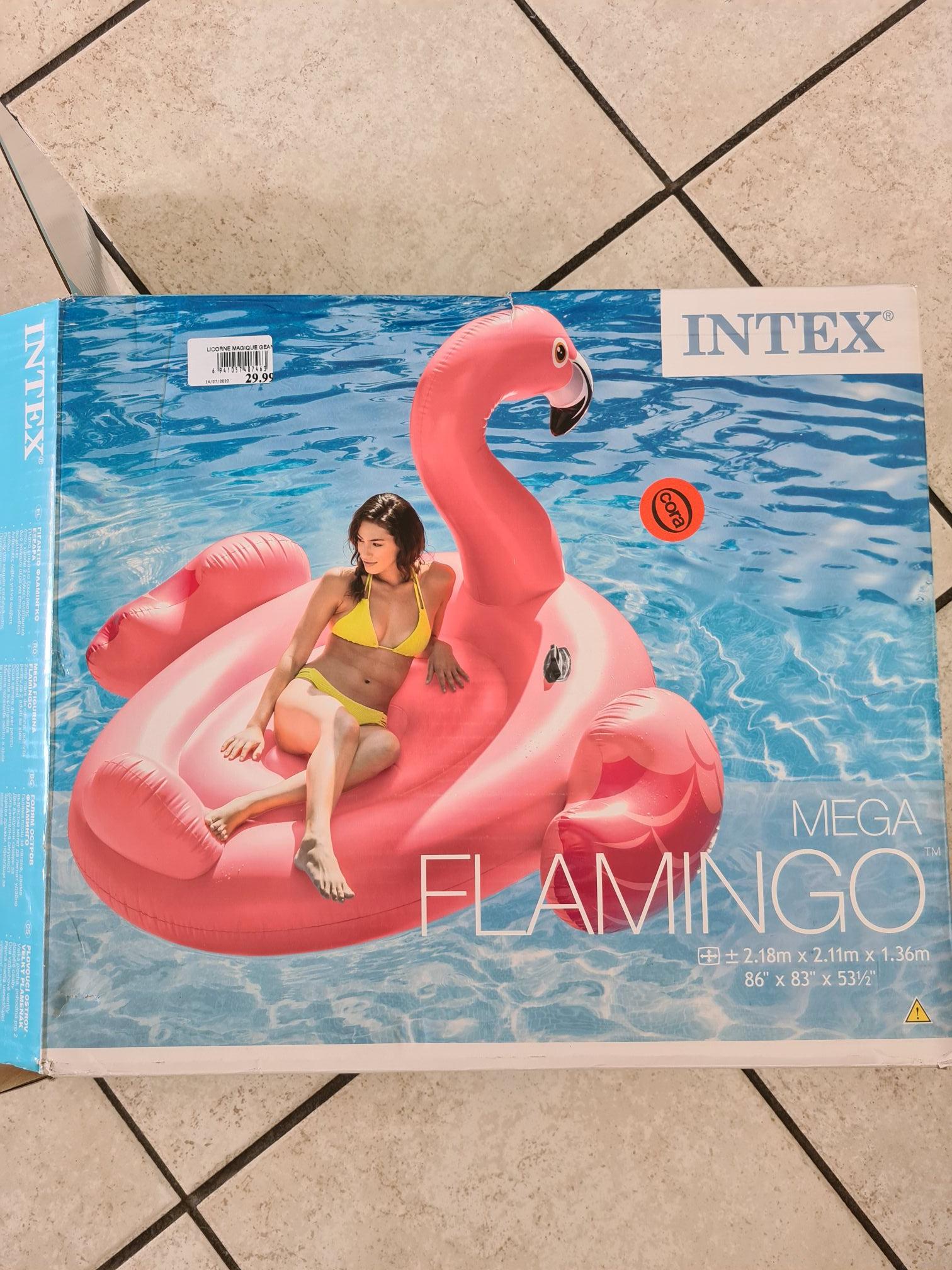 Mega Flamant Rose Intex - Courrières (62)