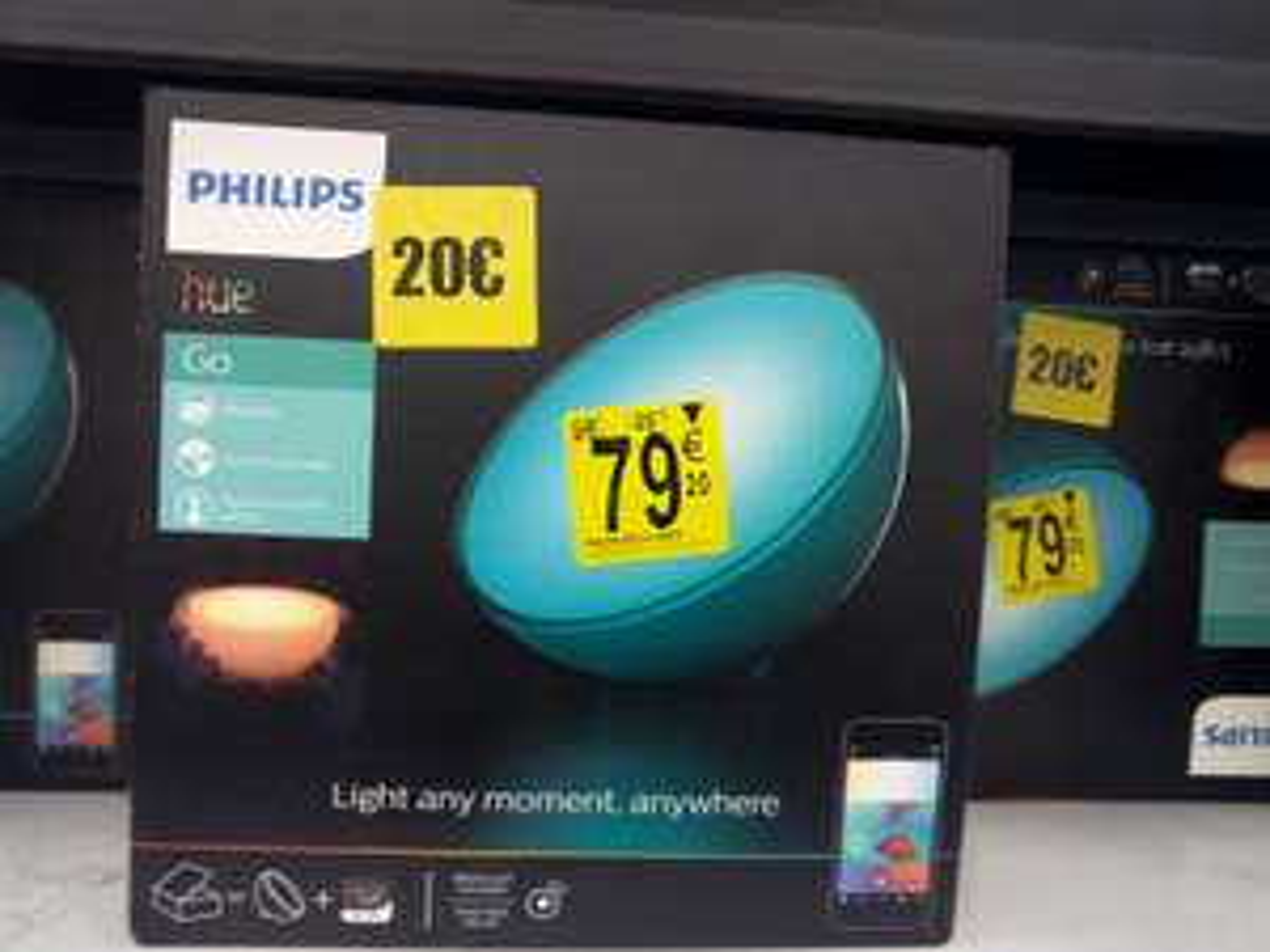Lampe Philips Hue Go