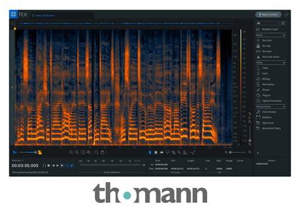 Logiciel de restauration audio iZotope RX 7 Elements (Dématérialisé)