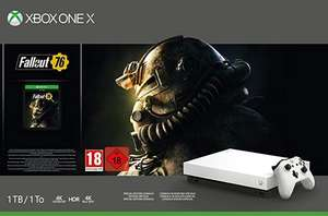 Console Microsoft Xbox One X (1 To) + Fallout 76 - Cora Lens (62)