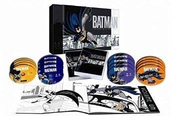 Coffret DVD : Batman, la série animée, L'intégrale 4 saisons