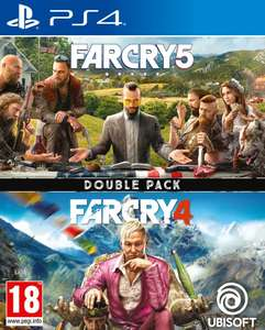 Compilation Far Cry 4 + Far Cry 5 sur PS4