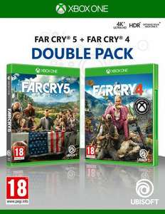 Far Cry Double Pack : Far Cry 4 + Far Cry 5 sur Xbox One (+ 2€ en SuperPoints)