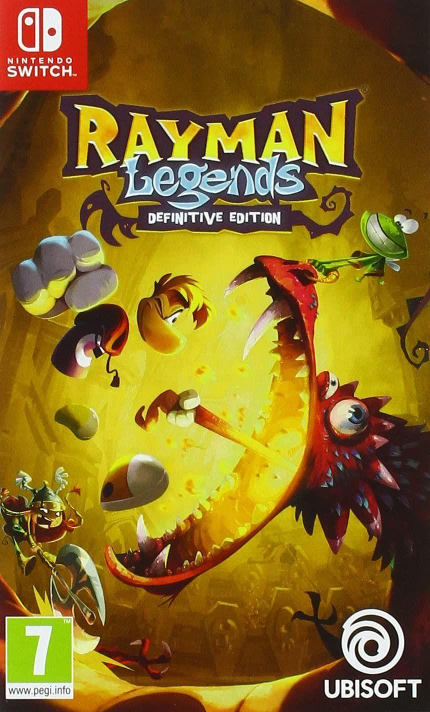 [Précommande] Jeu Rayman Legends Definitive Edition sur Nintendo Switch (Dématérialisé)