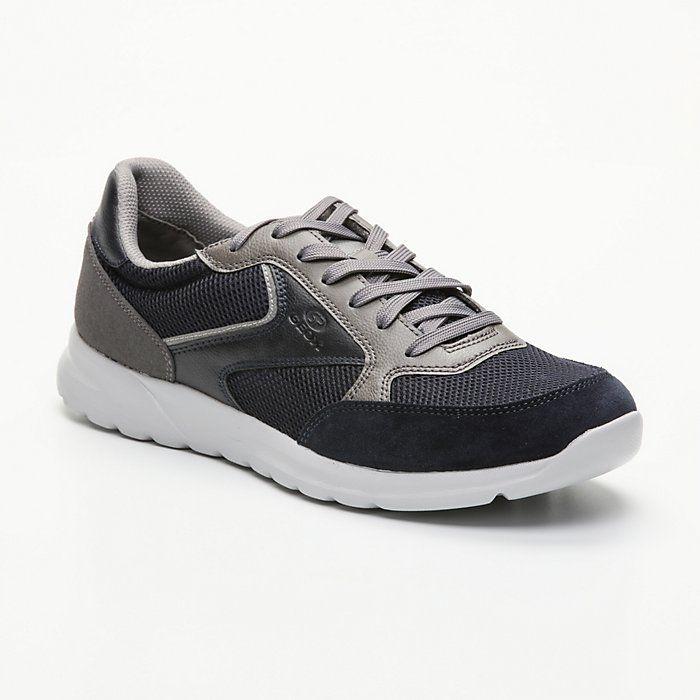 Sélection d'articles Geox en promotion - Ex :Sneakers Erast - Bleu Marine Et Gris Foncé