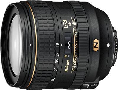 Objectif Nikon 16-80mm f/2.8-4 E ED VR