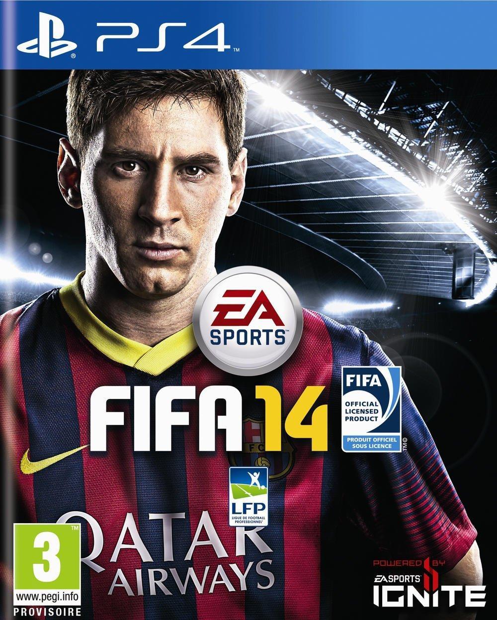 Jeu Fifa 2014 sur PS4