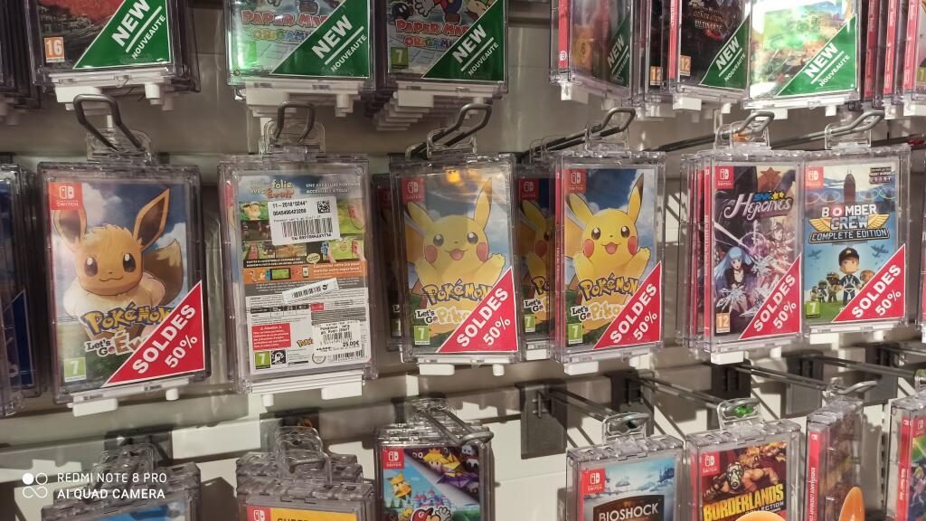 Pokémon Let's Go Pikachu ou Let's Go, Évoli (Plougastel 29)