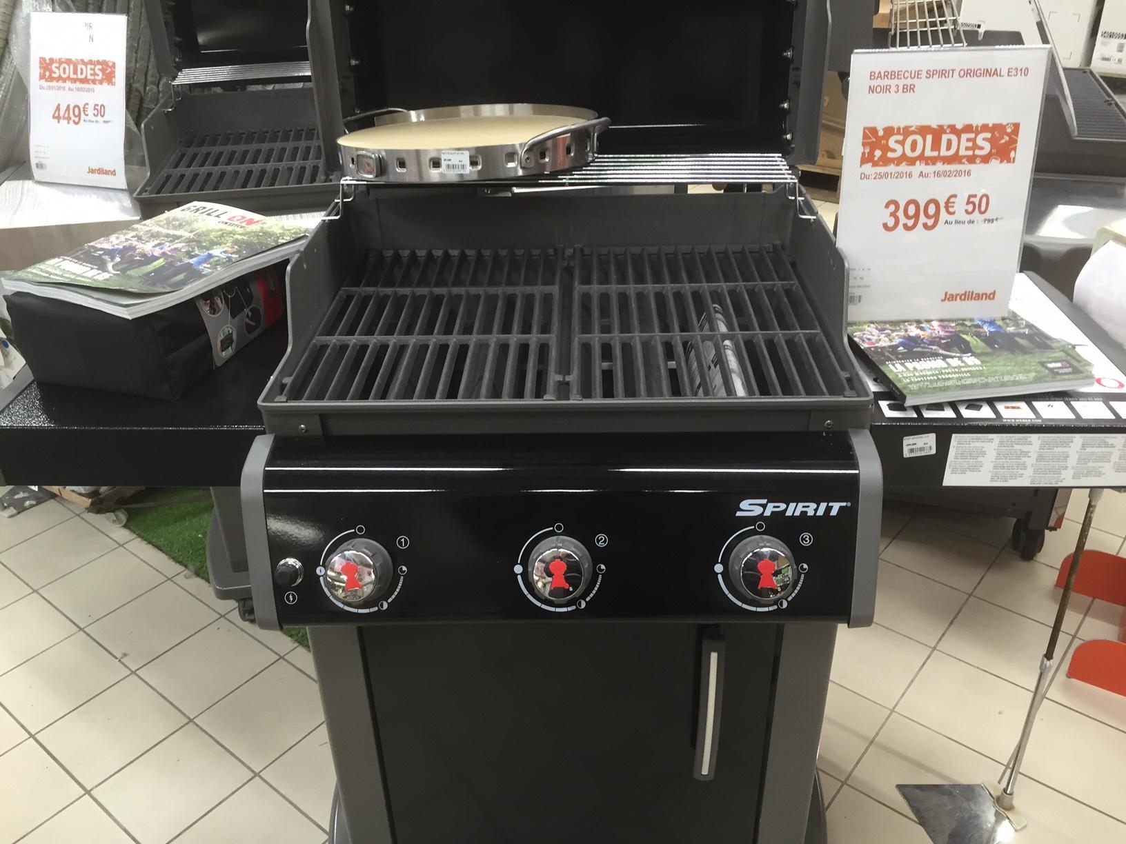 50% de réduction sur les barbecues gaz Weber - Ex : Barbecue Weber Spirit Original E310
