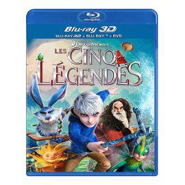 Blu-rays : 5 légendes 3D, Loopers édition ultime, Evil Dead 3... (Frais de port : 4.8€ + 1€ pour chaque article en +)