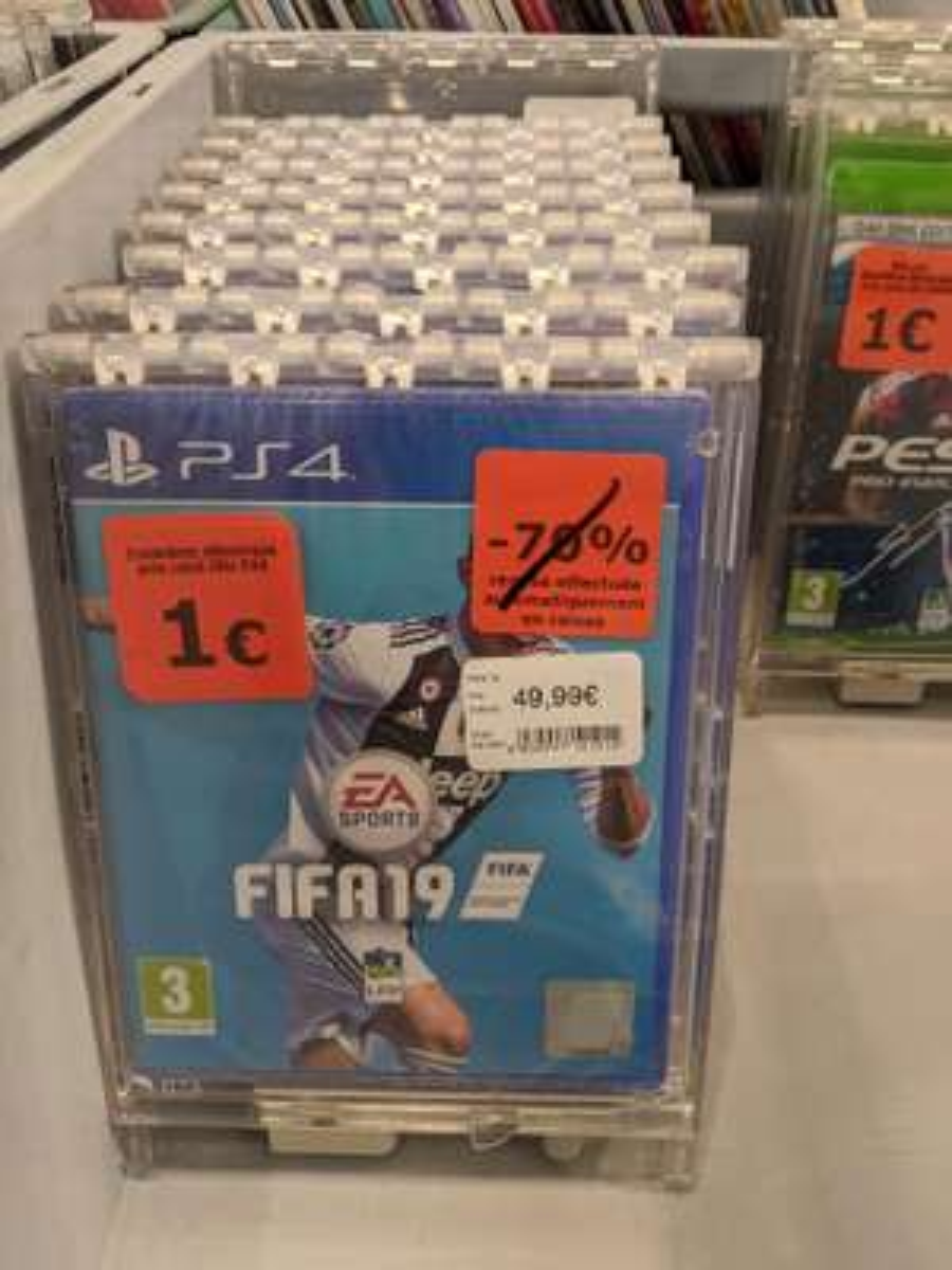 Sélection de jeux à 1€ (FIFA 19 sur PS4 et PC) - Orgeval (78)
