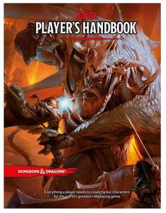 Dungeons and dragons Player's Handbook (En Anglais)