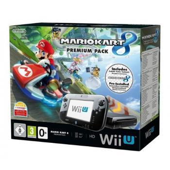 Console Nintendo Wii U premium 32go + Mario Kart préinstallé