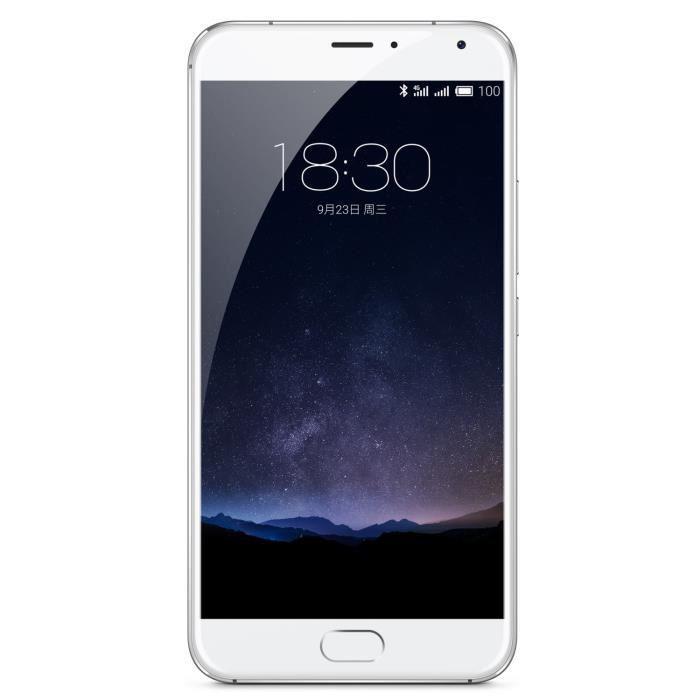 """Smartphone 5,7"""" Meizu Pro 5 - 32 Go - Silver/Blanc (via ODR de 100€)"""
