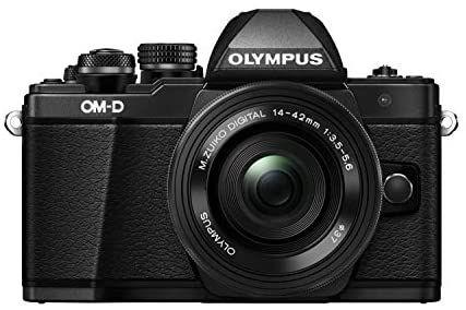 Appareil Photo Hybride Olympus OM-D E-M10 Mark II (Micro 4/3) + Objectif M.Zuiko 14-42mm EZ Zoom
