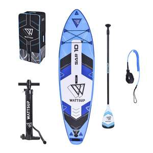 Stand Up Paddle Gonflable Wattsup Sar 10' 2020 (Bleu) + Accessoires