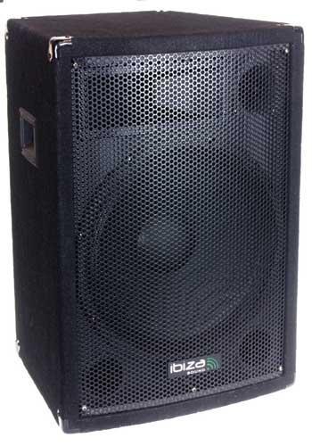 Enceinte Sono trapezoidale Disco12 Ibiza - 300W RMS