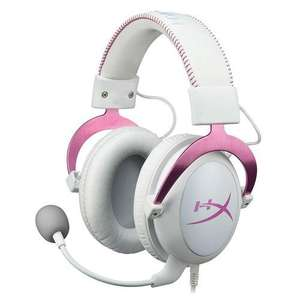 Micro-casque Kingston HyperX Cloud II - Blanc/Rose