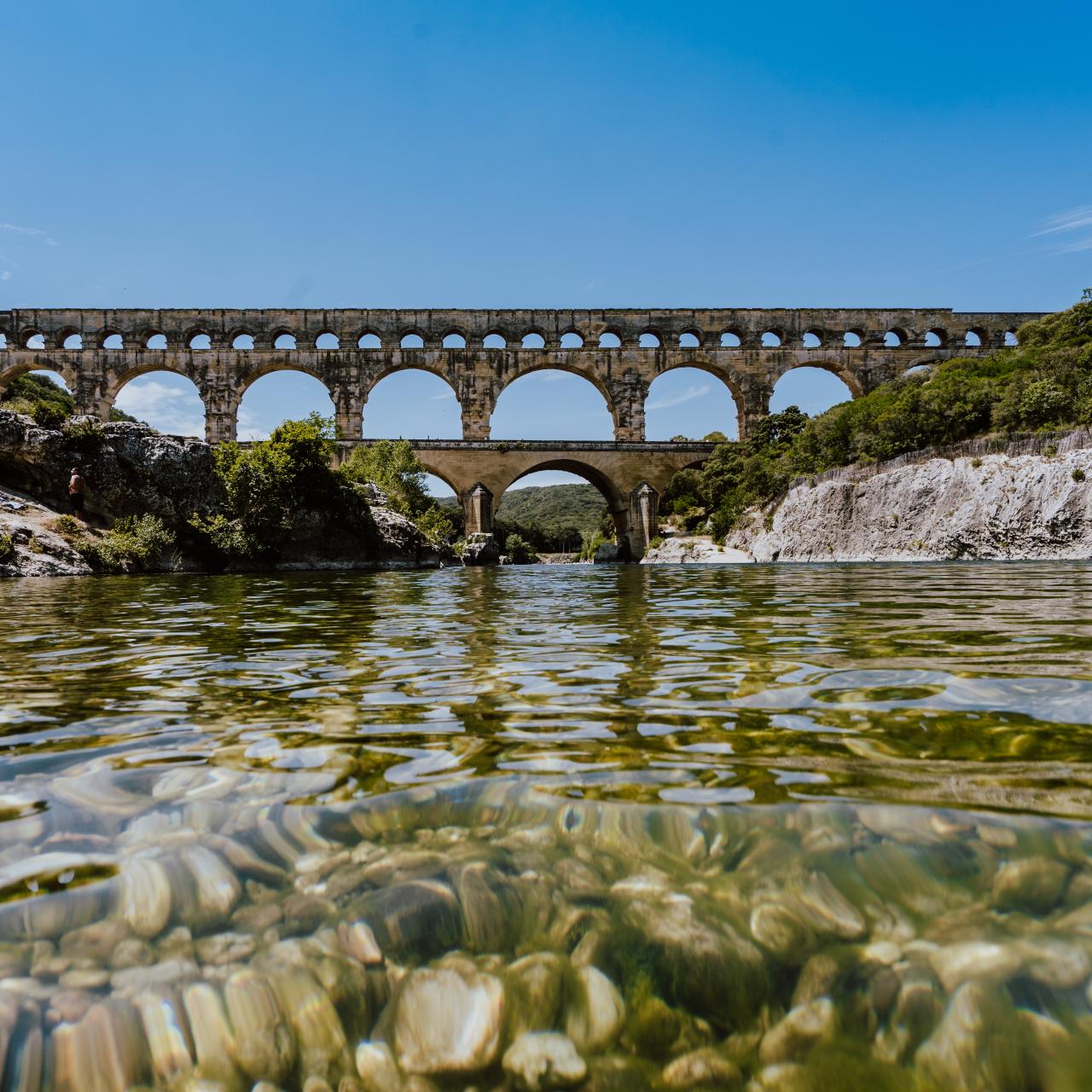 Descente du Gardon de Collias au Pont du Gard en canoë pour 2 adultes, 8 km, en août et septembre 2020 - Collias (30)