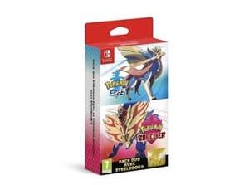 Double Pack Pokémon Épée & Pokémon Bouclier sur Nintendo Switch