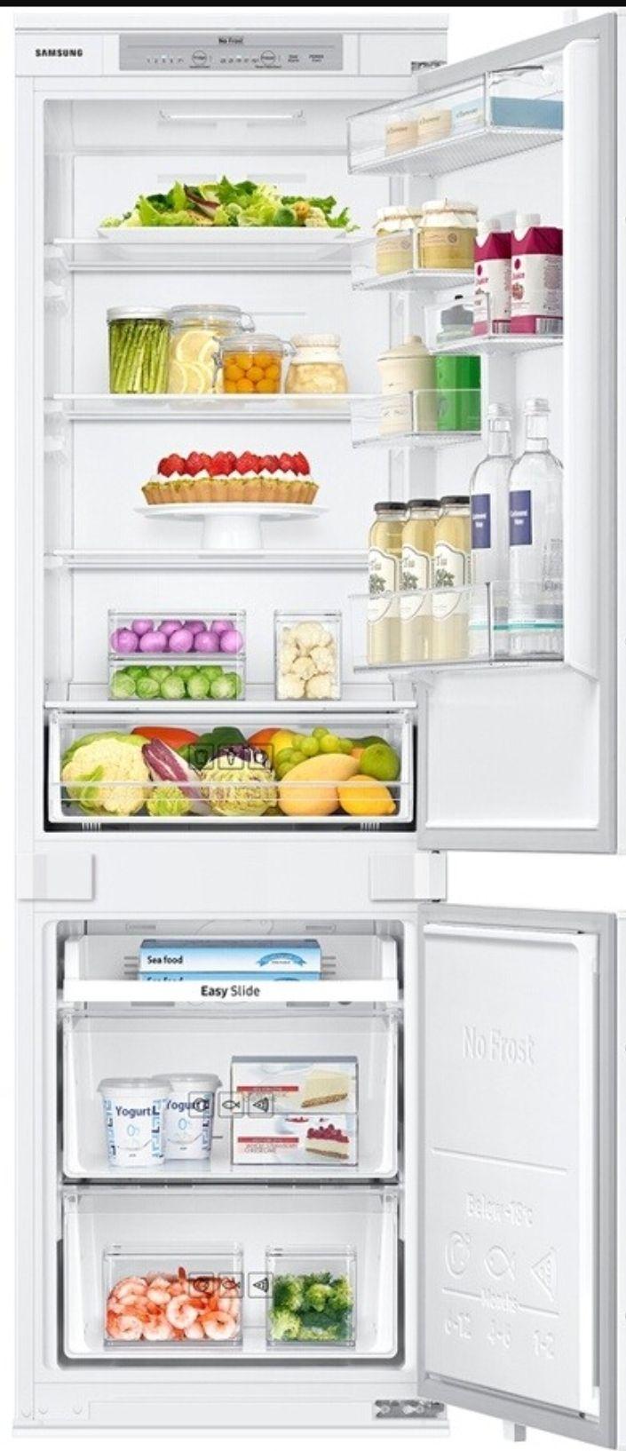 Réfrigérateur congélateur Samsung BRB260010WW - 268L, Classe A+