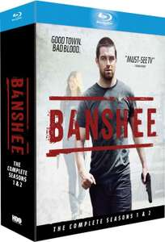 Coffret Blu-ray Banshee Saisons 1 et 2