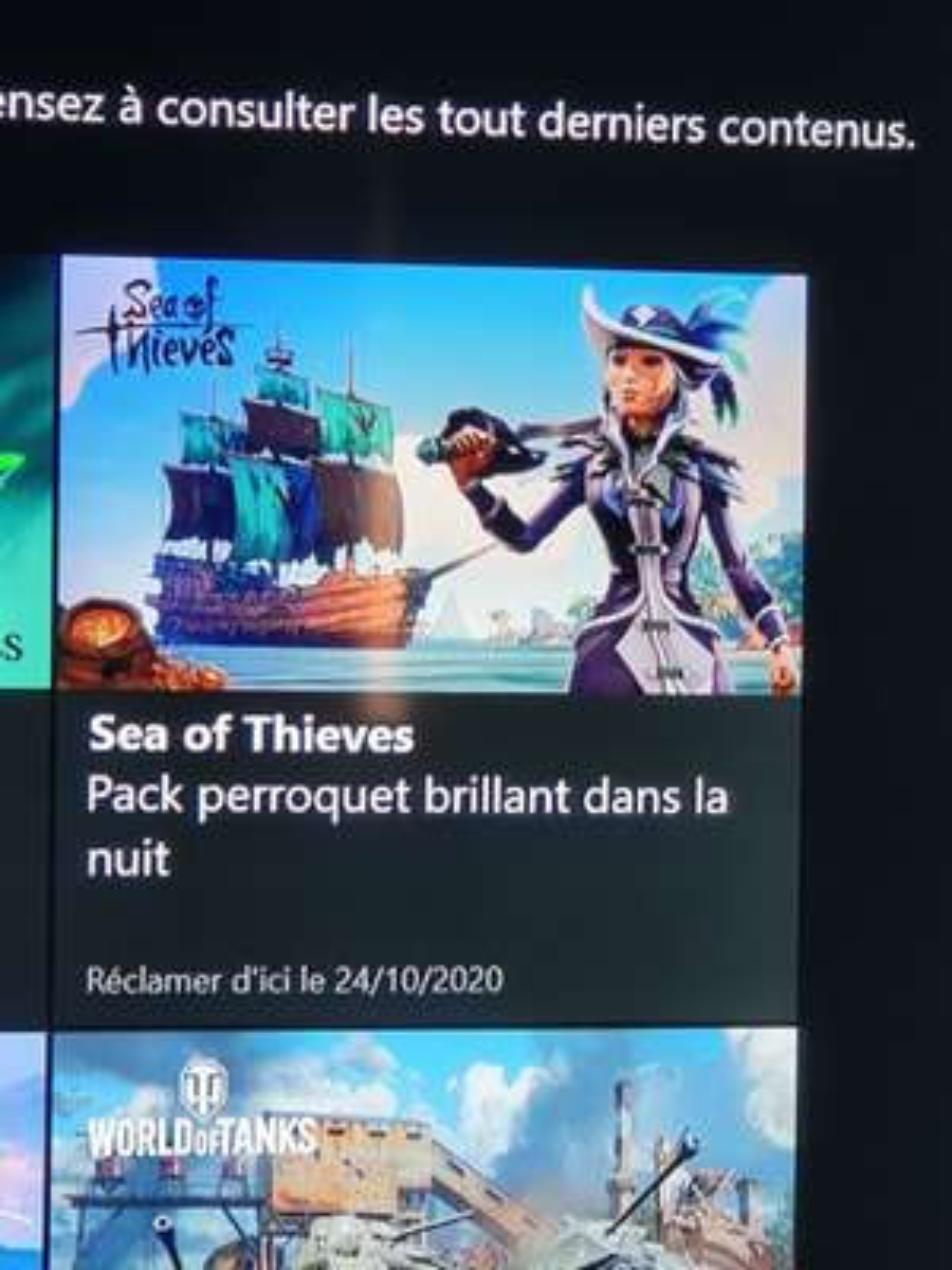 [Game Pass Ultimate] Pack perroquet brillant dans la nuit gratuit pour Sea of Thieves (Dématérialisé)