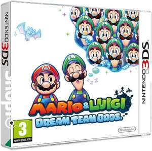 Sélection de jeux 3DS en promotion - Ex : Mario And Luigi Dream Team Bros
