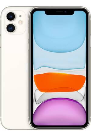 """Smartphone 6.1"""" Apple iPhone 11 - 128Go, Blanc (Vendeur Tiers)"""