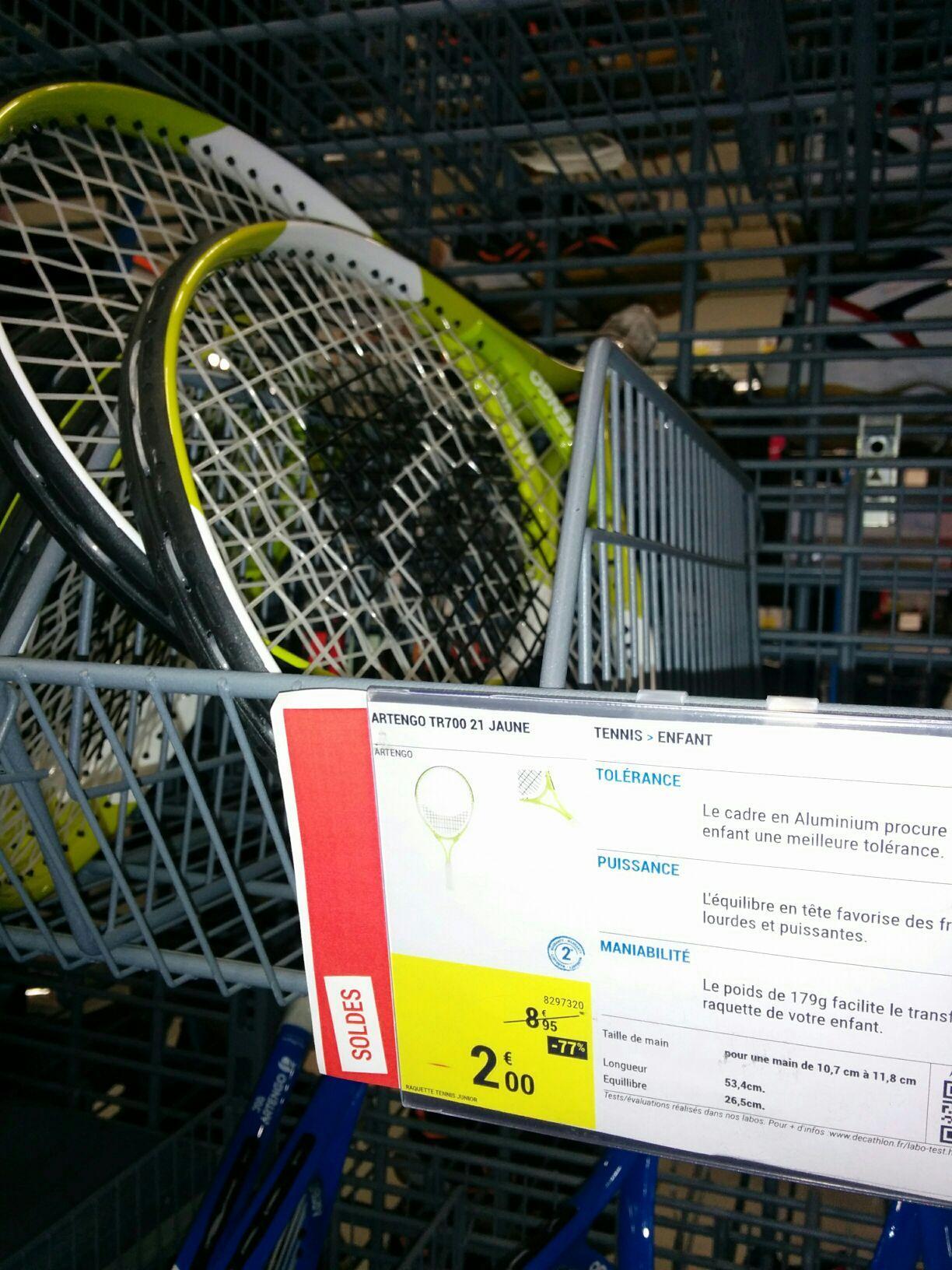 Raquette de tennis enfant Artengo TR700 21