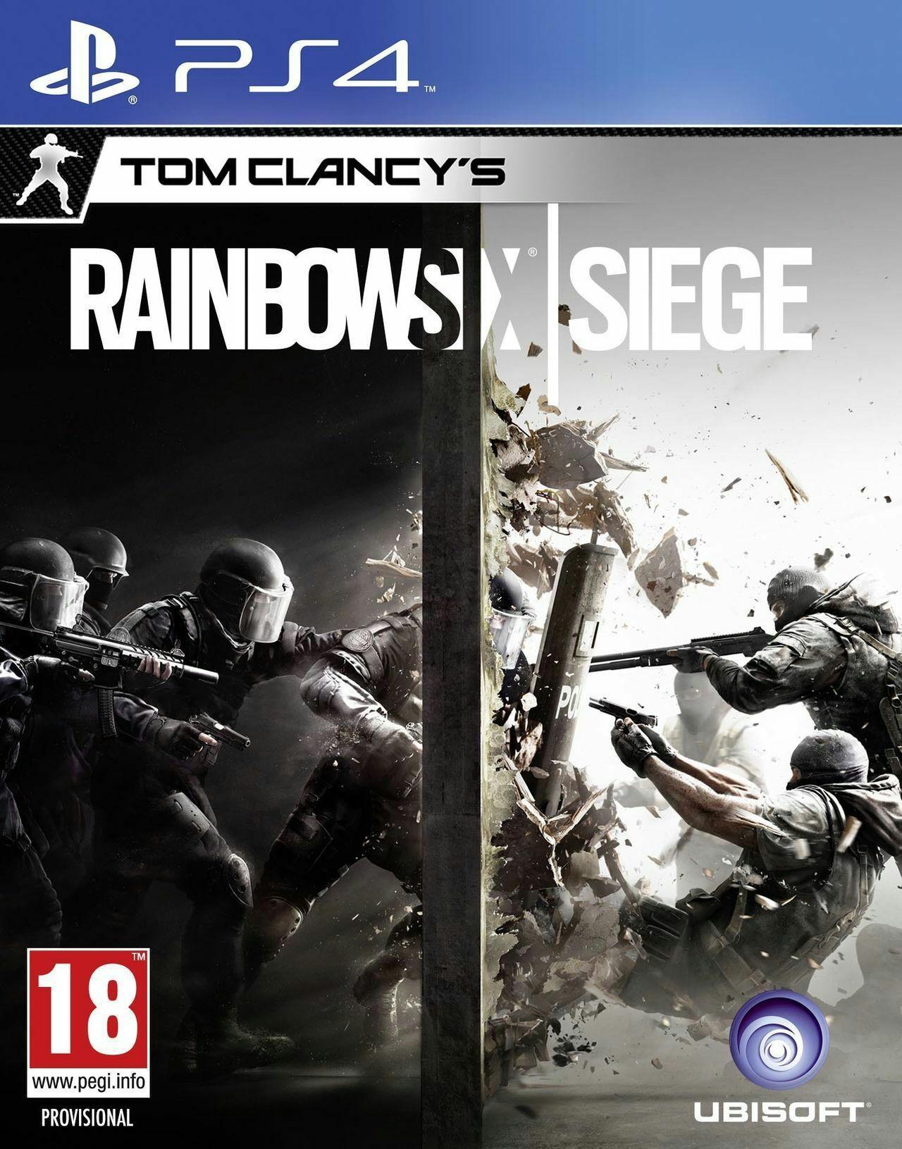Tom Clancy's Rainbow Six Siege sur PS4 (VO) et Xbox One (VF)
