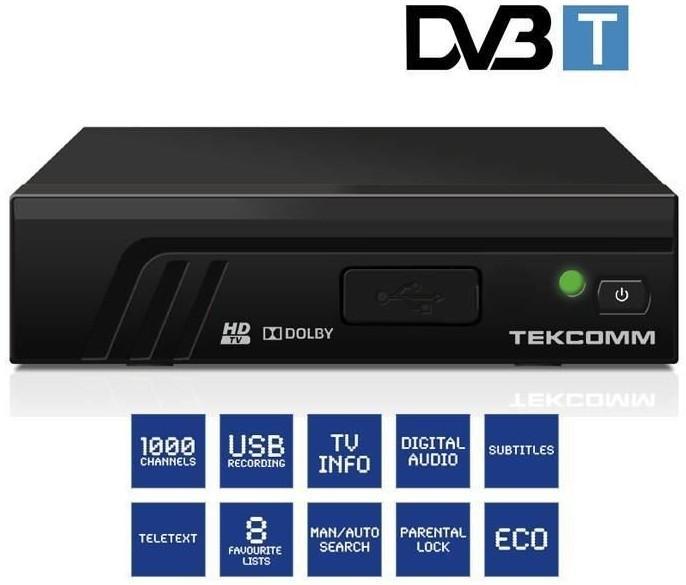 Décodeur TNT HD Tekcomm TCT2100