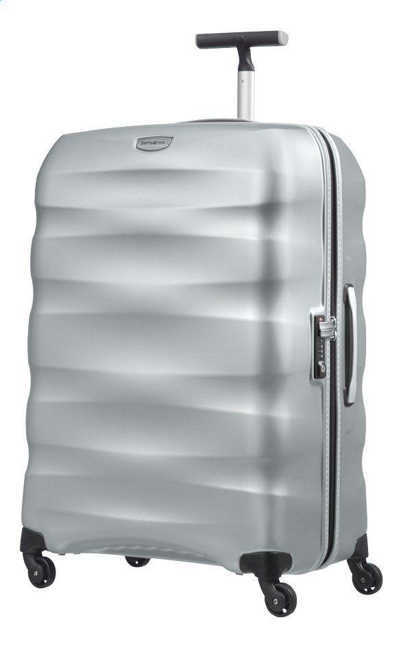 Valise rigide Samsonite Engenero Spinner - Silver, 75 cm 100 L 3,4kg(Frontaliers Belgique)
