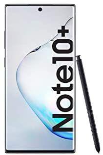 """Smartphone 6.8"""" Samsung Galaxy Note10 + SM-N975F - Double SIM, 12 Go de RAM, 256 Go de mémoire, 10 MP Dual Pixel AF, Noir"""