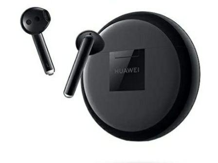 Écouteurs sans fil Huawei FreeBuds 3 - Bluetooth 5.0, Réduction Active du Bruit, Noir (Vendeur Tiers)