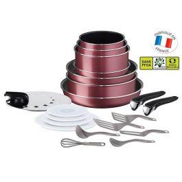 Batterie de cuisine Tefal Ingenio Essential - 20 pièces, Tous feux sauf induction