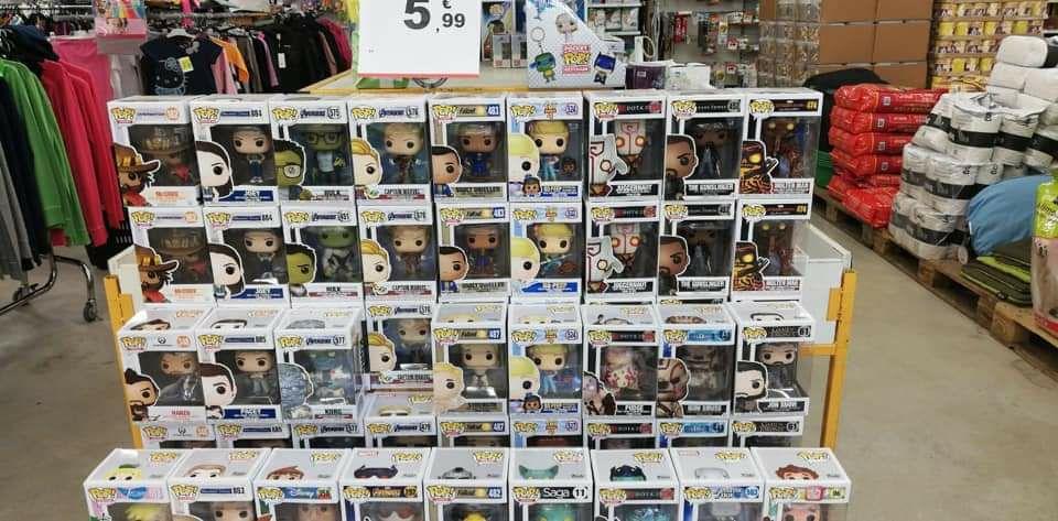Sélection de figurines Funko Pop à 5.99€ - Ex : Captain Marvel (ID Stock - Nord-Pas-de-Calais)