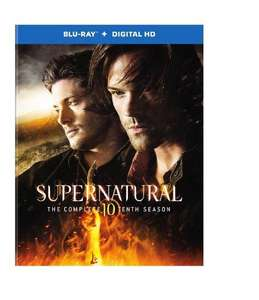 Blu-ray+Digital : Supernatural Saison 10 - Version anglaise sous titrée français