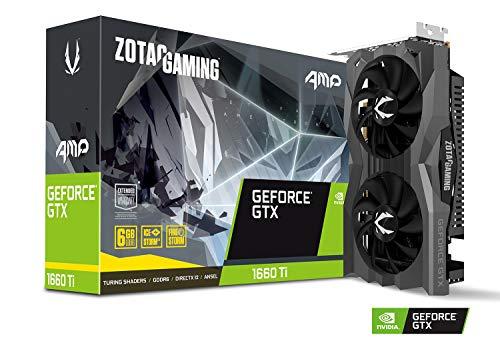Carte graphique ZOTAC GAMING GeForce GTX 1660 Ti AMP, 6 Go