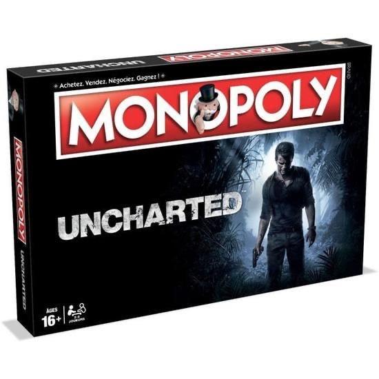Jeu de société Monopoly Uncharted